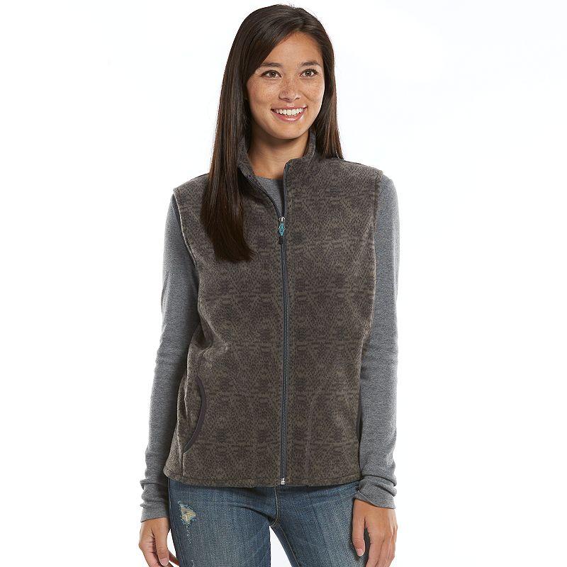 Women's Woolrich Fleece Vest