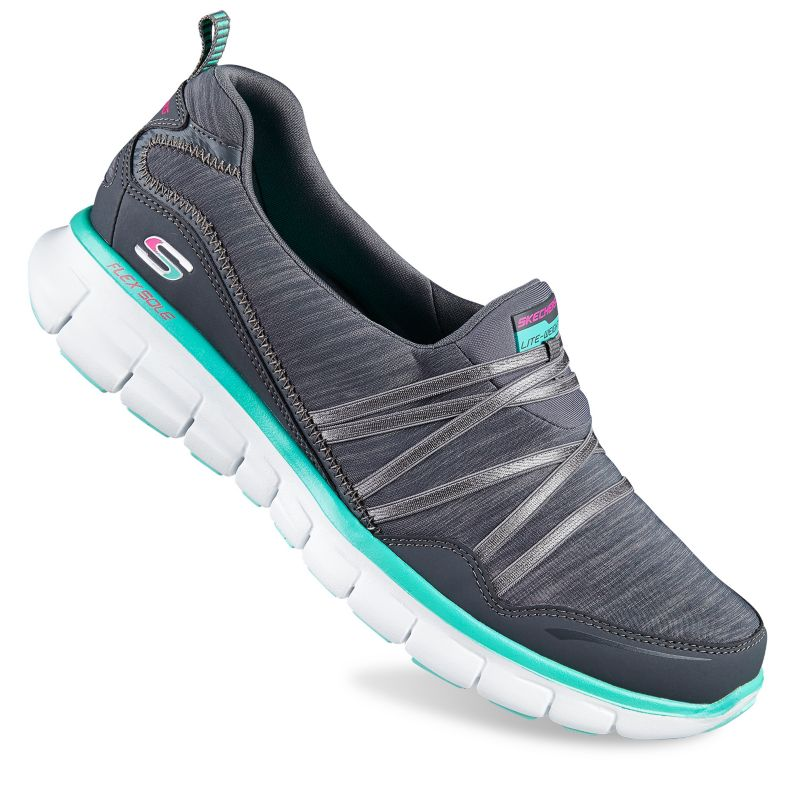 Skechers Shoes. Walk in comfort wherever you go in Skechers Shoes from Kohl's. Skechers is one of the most recognizable brands in the industry, and it's clear to see why. With eye-catching style and feel-good wear, Sketchers shoes are essential additions to your footwear collection.