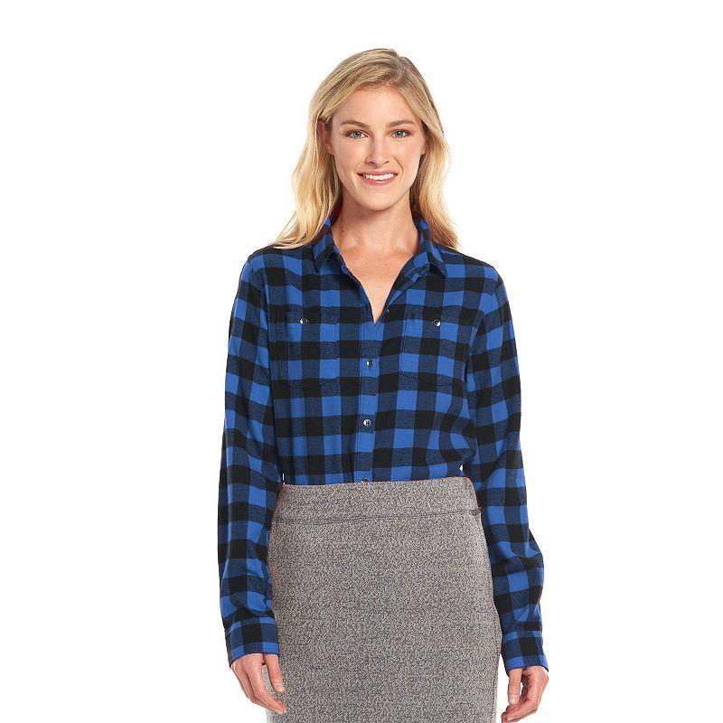 Women's Woolrich Plaid Shirt