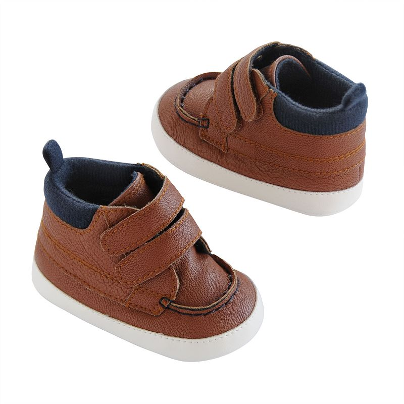 Brown High Top Carters Shoes