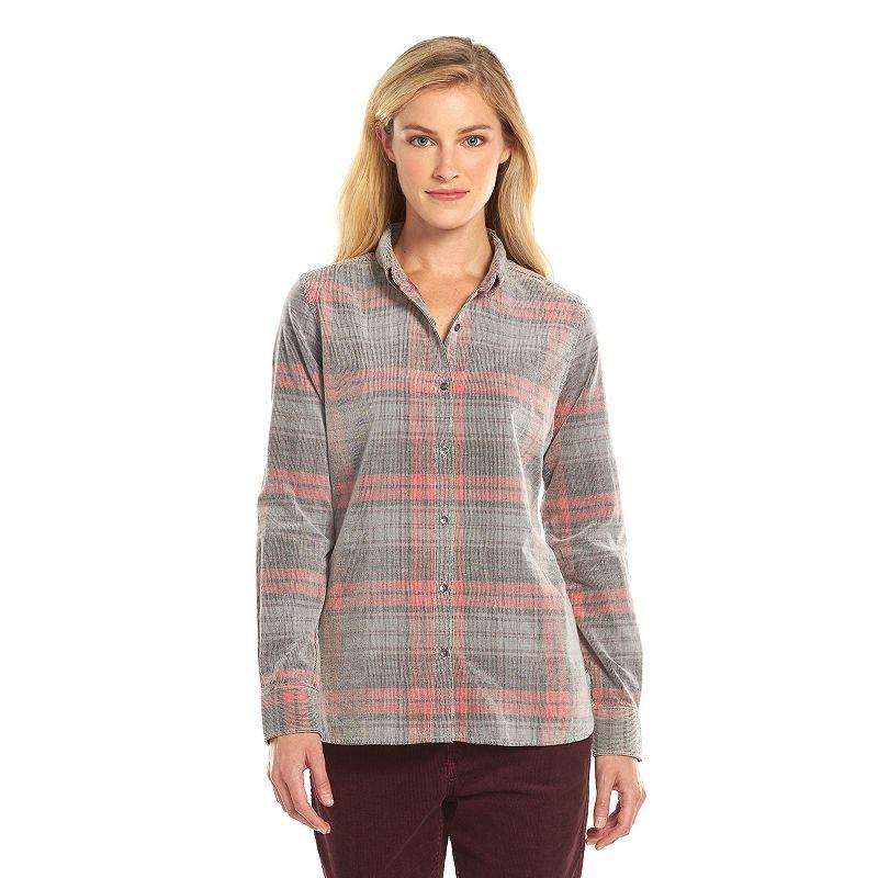 Woolrich Plaid Corduroy Shirt - Women's
