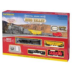 Bachmann Trains Echo Valley Express HO Scale Electric Train Set by