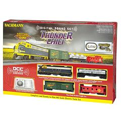 Bachmann Trains Thunder Chief HO Scale Electric Train Set  by