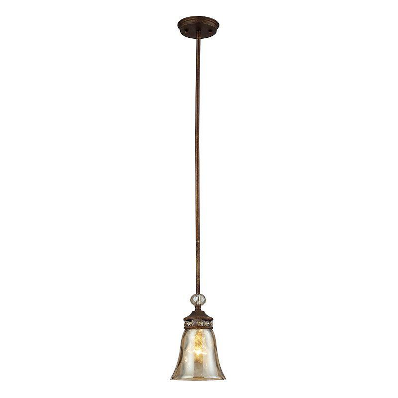 Elk Lighting Cheltham 1-Light Glass Pendant