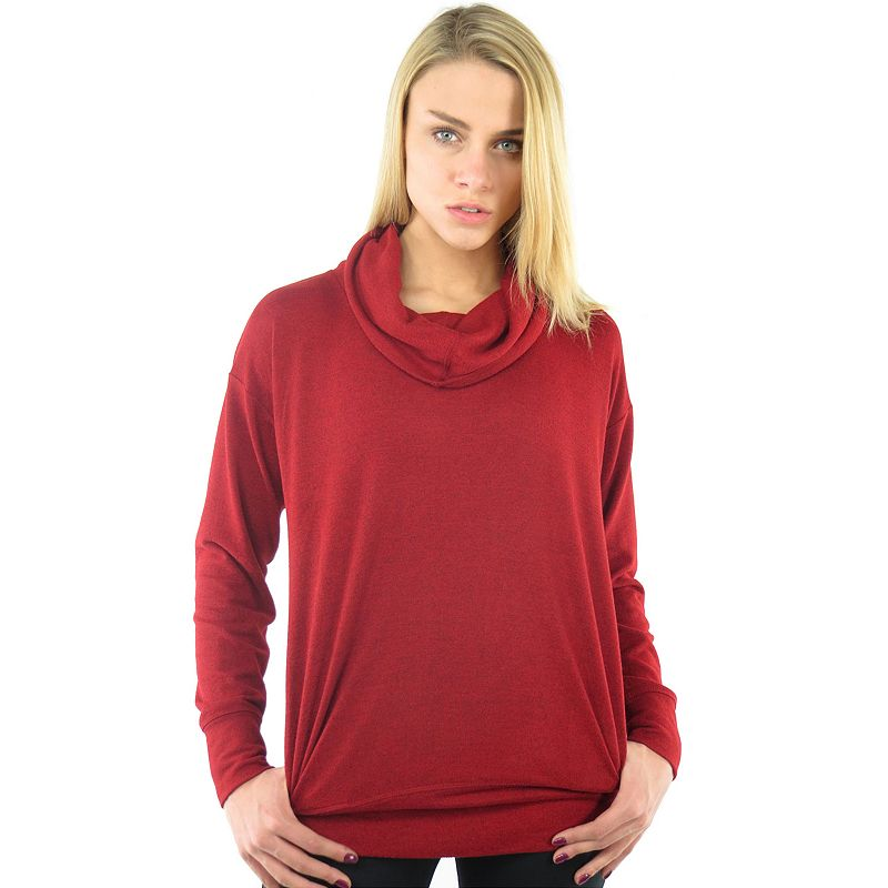 Plus Size Ryka Aspire Weekender Funnel Cowlneck Sweater