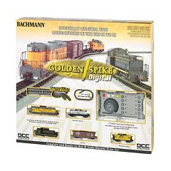 Bachmann Golden Spike N Scale Ready to Run Electric Train Set with Digital Command Control by