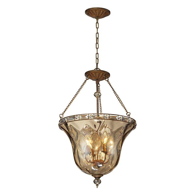 Elk Lighting Cheltham 4-Light Glass Pendant