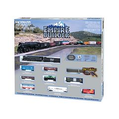 Bachmann Empire Builder N Scale Ready to Run Electric Train Set by