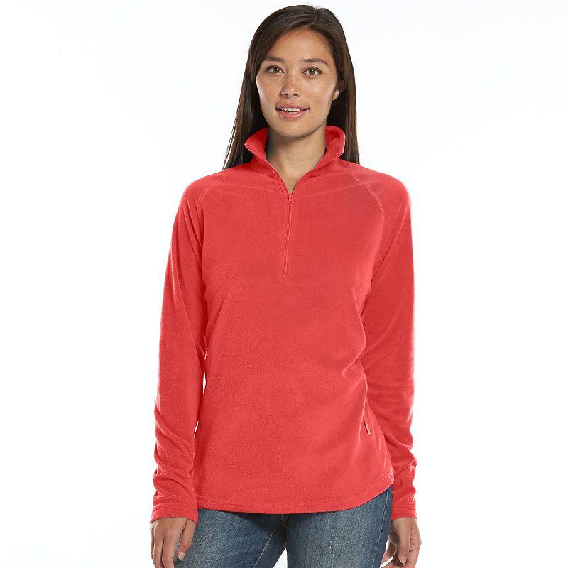 Woolrich 1/4-Zip Fleece Top - Women's