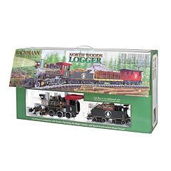 Bachmann North Woods Logger G Scale Electric Train Set by