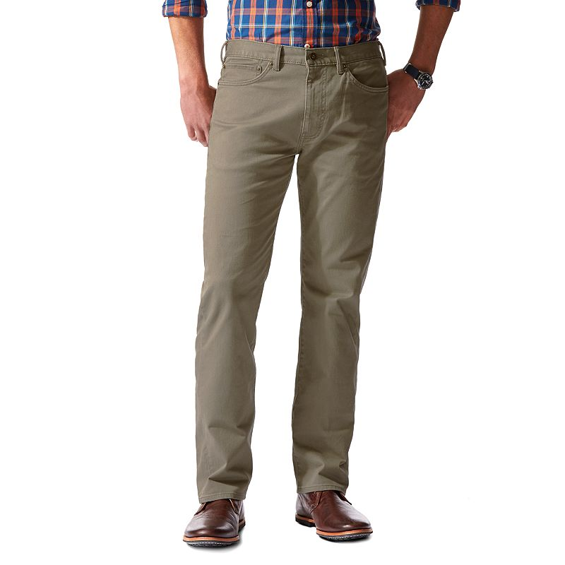 Men's Dockers® 5-Pocket D2 Straight-Fit Stretch Twill Pants