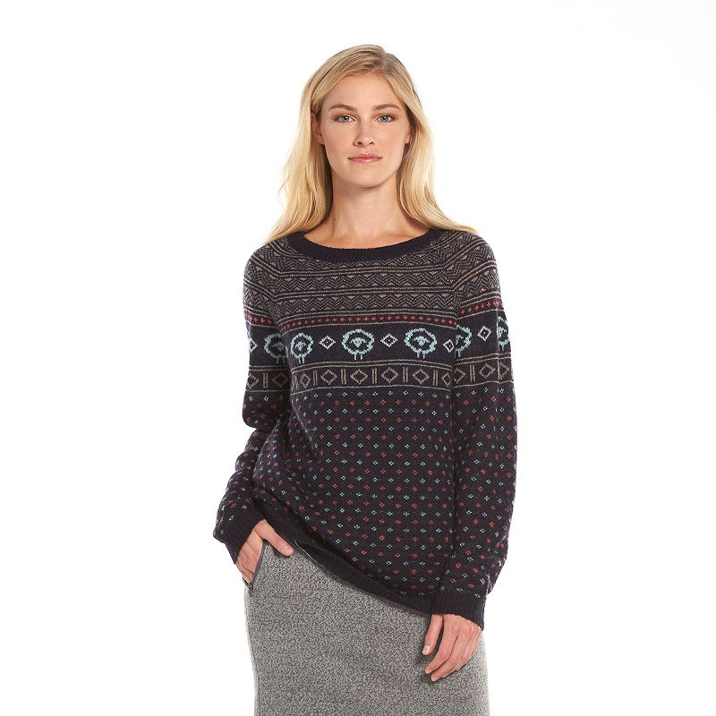 Women's Woolrich Fairisle Crewneck Sweater