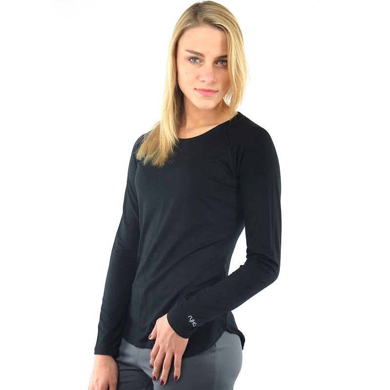 Plus Size Ryka Finesse Solid Crewneck Workout Tee
