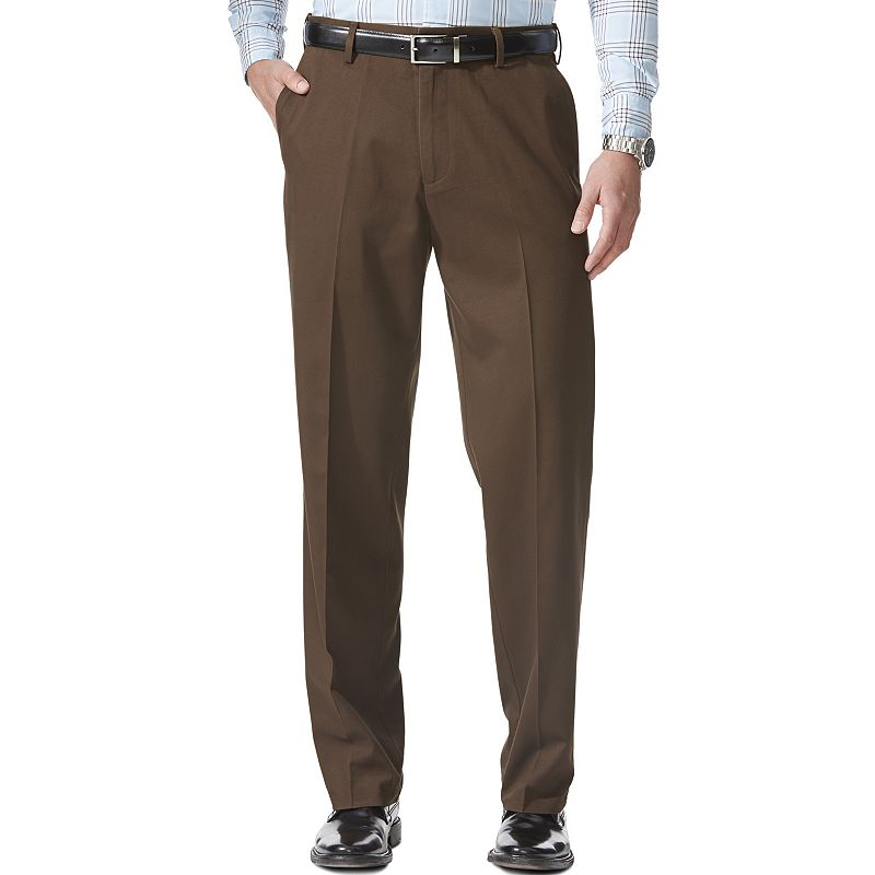 Men's Dockers Comfort-Waist Stretch Khaki Relaxed-Fit Flat-Front Pants