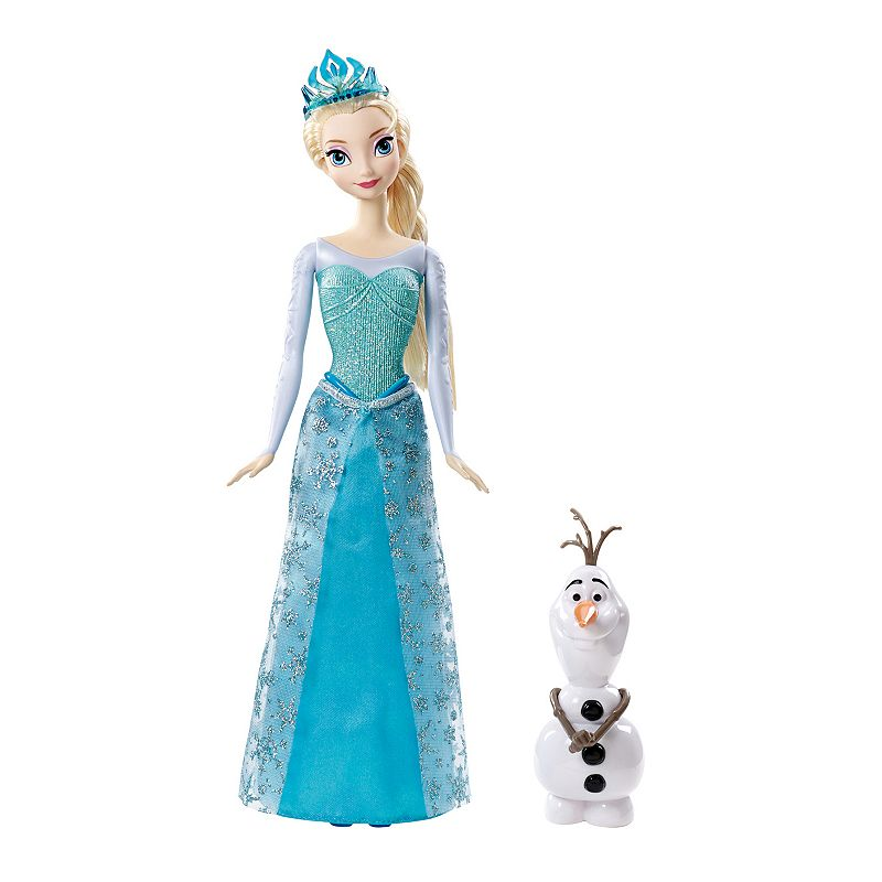Disney's Frozen Sparkle Elsa & Olaf Dolls