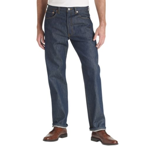 Levi's 501 Original Shrink-To-Fit Jeans - Big and Tall