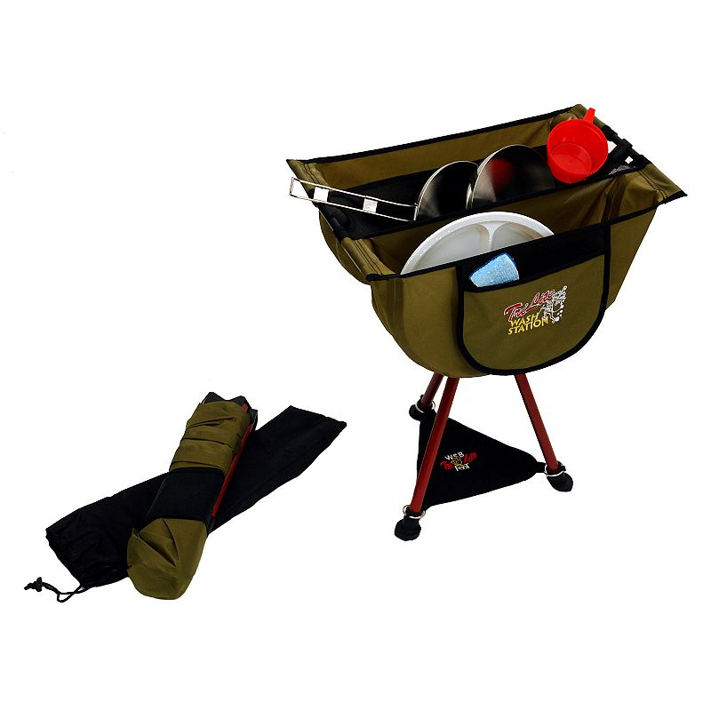 Byer of Maine TriLite Folding Stool and Wash Station