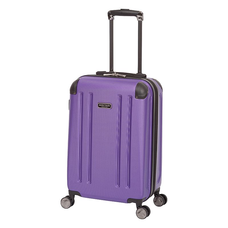 Heritage Travelware 20-Inch Hardside Spinner Carry-On