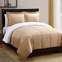 VCNY Micromink & Sherpa Comforter Set