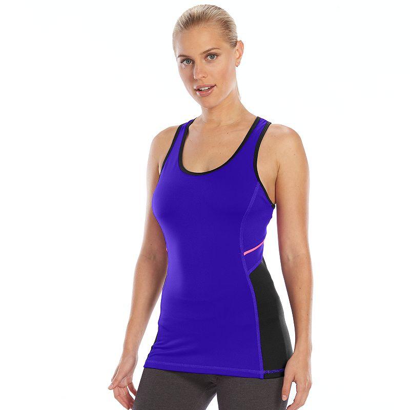 Women's Tek Gear® DRY TEK Scoopneck Racerback Workout Tank