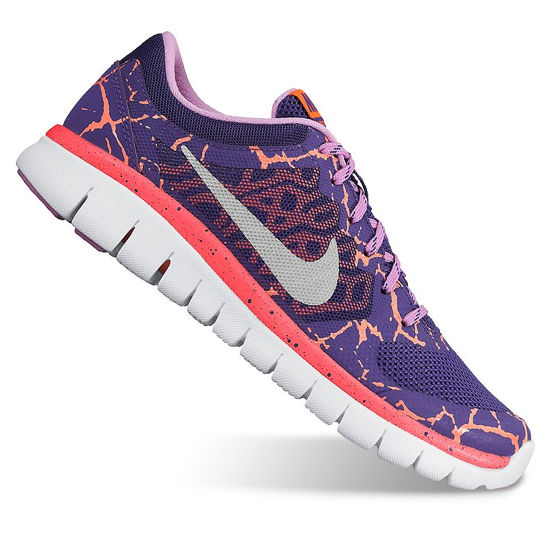 Nike Flex Run 2015 Lava Girls' Running Shoes