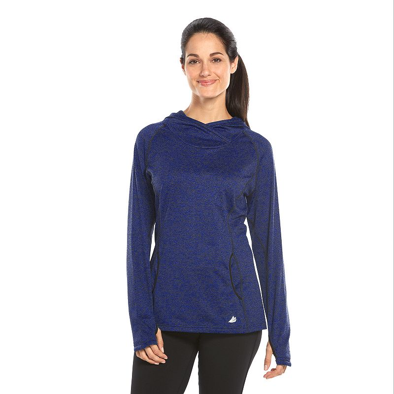 Free2B by Free Country Fleece-Lined Cowlneck Hoodie - Women's