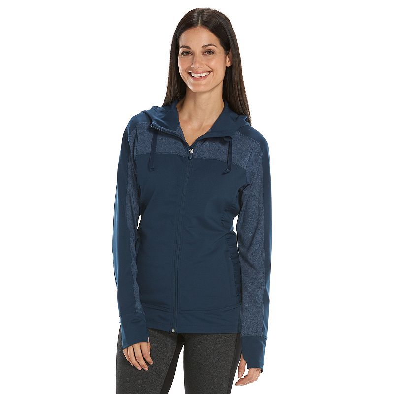 Women's Free2B by Free Country Hooded Workout Jacket