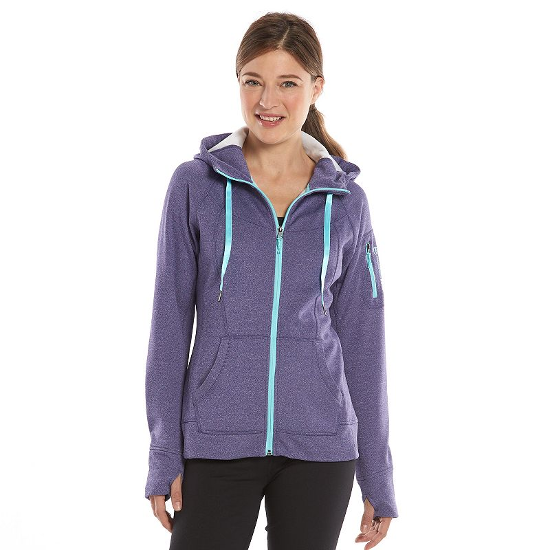 Women's Free2B by Free Country Marled Fleece Hoodie