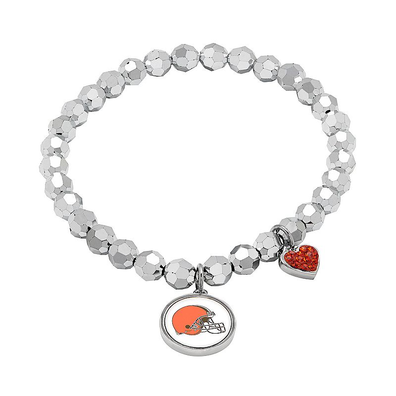 Cleveland Browns Bead Stretch Bracelet
