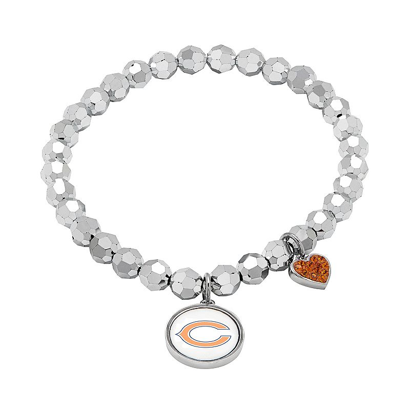 Chicago Bears Bead Stretch Bracelet
