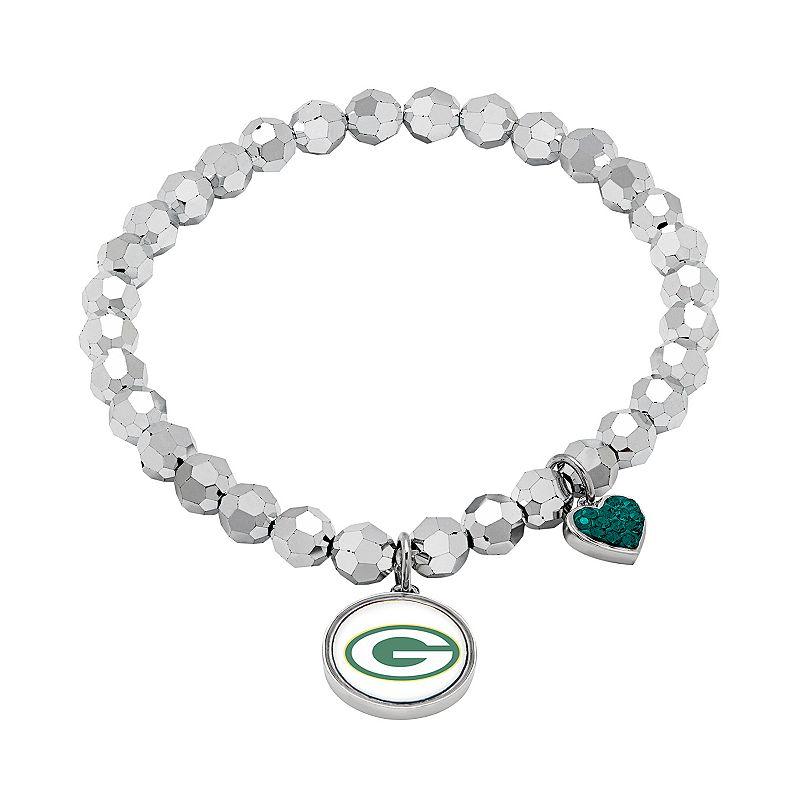 Green Bay Packers Bead Stretch Bracelet