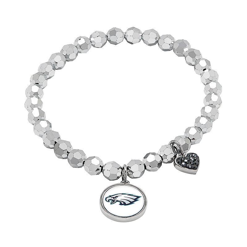 Philadelphia Eagles Bead Stretch Bracelet