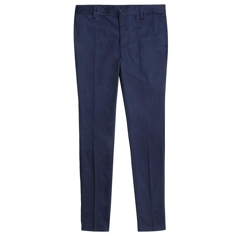 Girls 7-16 & Plus Size French Toast School Uniform Skinny Twill Pants