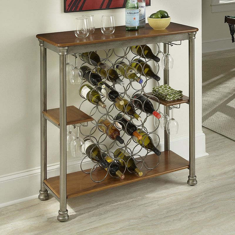 Home Styles The Orleans Storage Wine Rack