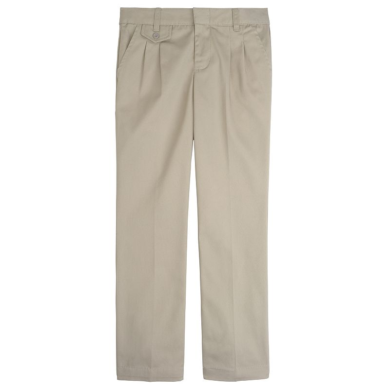 Girls 7-20 French Toast School Uniform No Wrinkle Pleated Pants