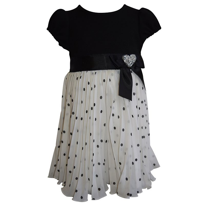 Girls 4-6x Blueberi Boulevard Polka-Dot Dress