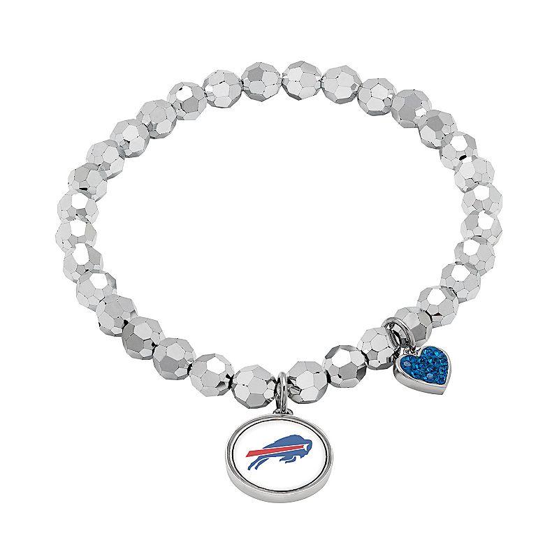 Buffalo Bills Bead Stretch Bracelet