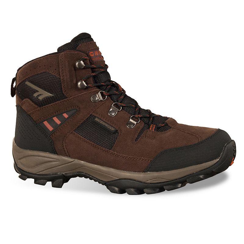 Hi-Tec Deco Pro Men's Mid-Top Waterproof Steel-Toe Hiking Boots