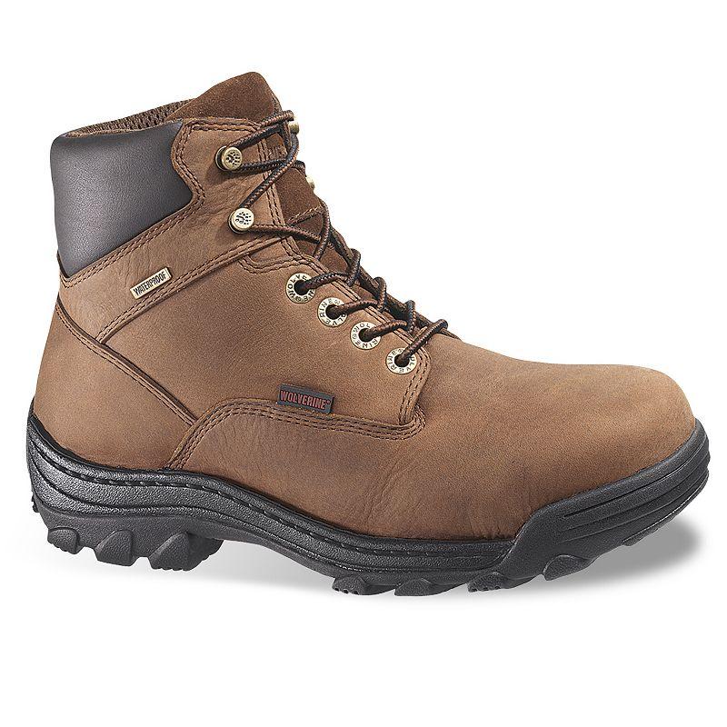 Wolverine Durbin Men's Waterproof 6-in. Steel-Toe Work Boots