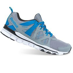 Reebok Mens Hexaffect Storm Running Shoes in Grey/Blue/White