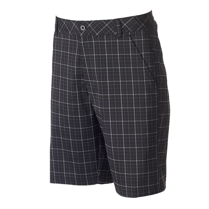 Men's FILA SPORT GOLF Cypress Classic-Fit Plaid Shorts