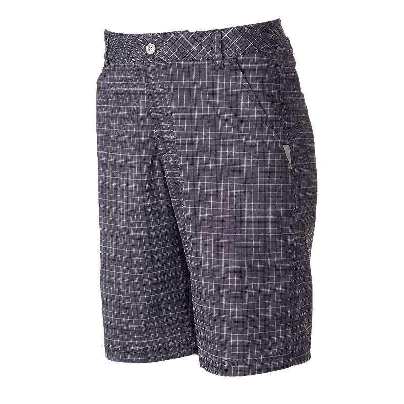Men's FILA SPORT GOLF Cypress Classic-Fit Plaid Shorts