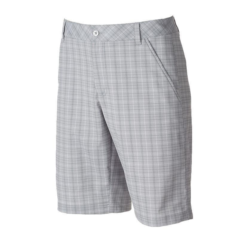 Men's FILA SPORT GOLF Pine Valley Classic-Fit Plaid Shorts
