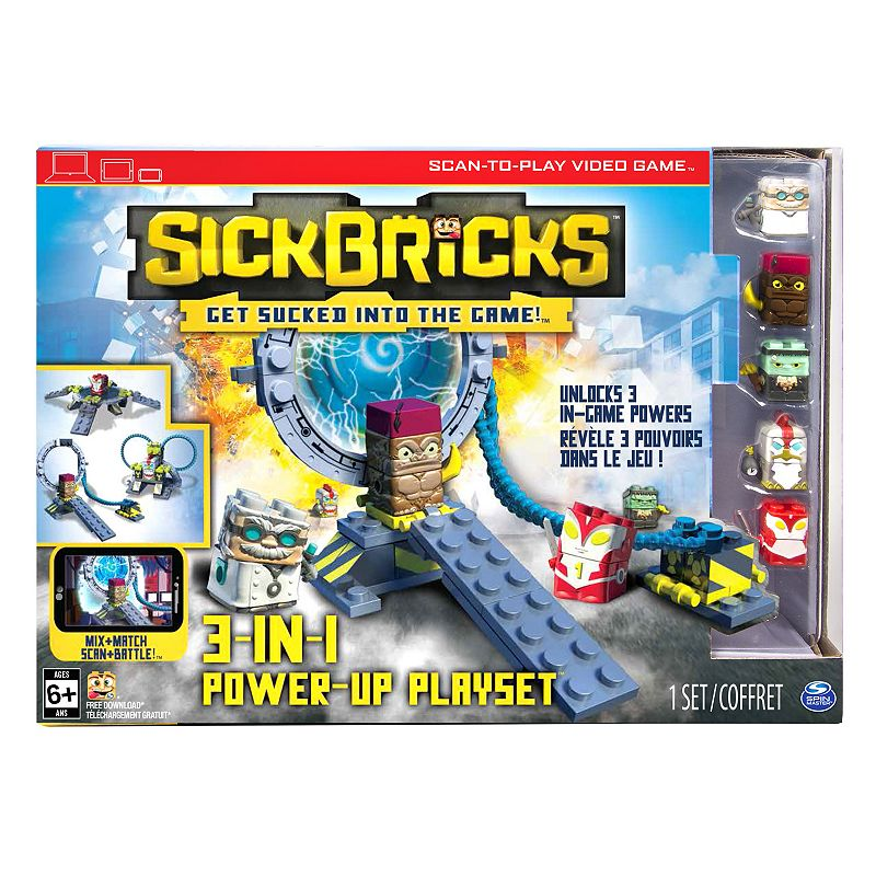 Sick Bricks 3-in-1 Power-Up Set