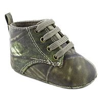Wee Kids Camouflage Crib Shoes - Baby Boy