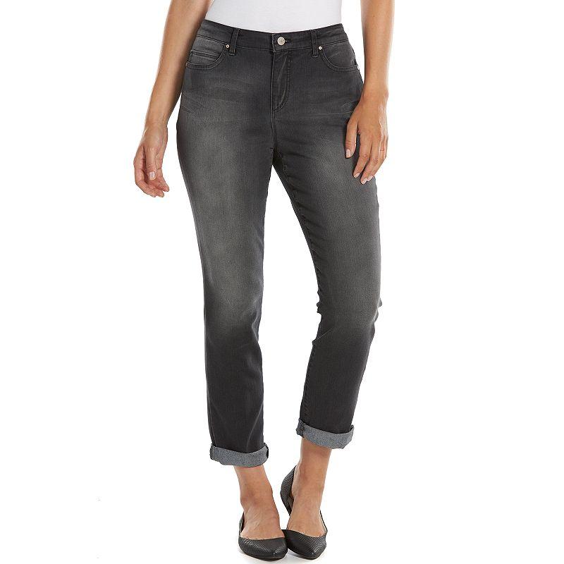 Gloria Vanderbilt Jordyn Slim Denim Boyfriend Jeans - Women's