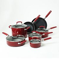 Bobby Flay™ 12-pc. Nonstick Aluminum Cookware Set