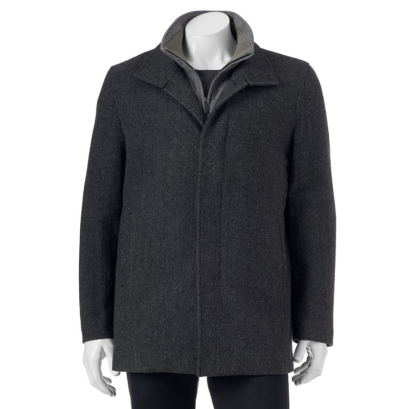 Men's Towne by London Fog Wool-Blend Car Coat