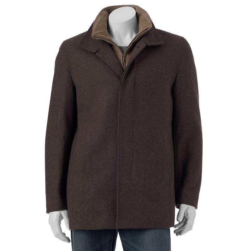 Men's Towne by London Fog Wool-Blend Car Coat