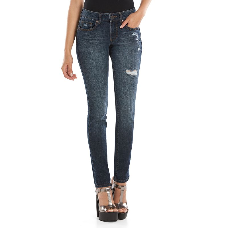 SO Juniors' Skinny Jeans (Grey)